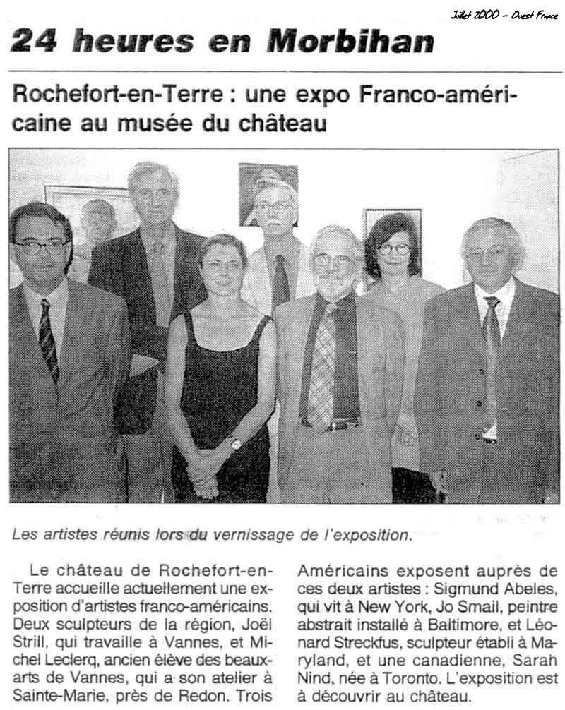 Exposition de sculpture Franco-Américaine, Sculpture et Peinture au Château du Domaine départemental