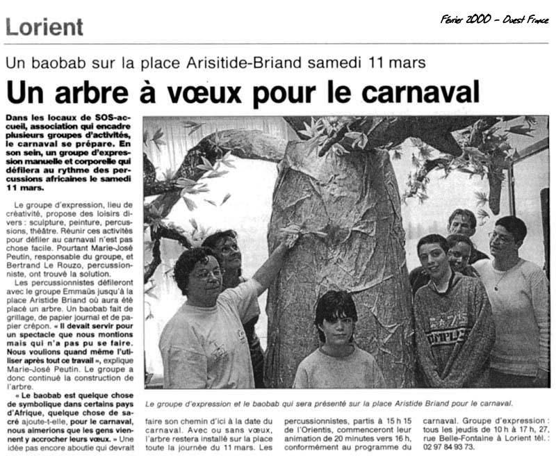 La Sculpture fait son Carnaval,