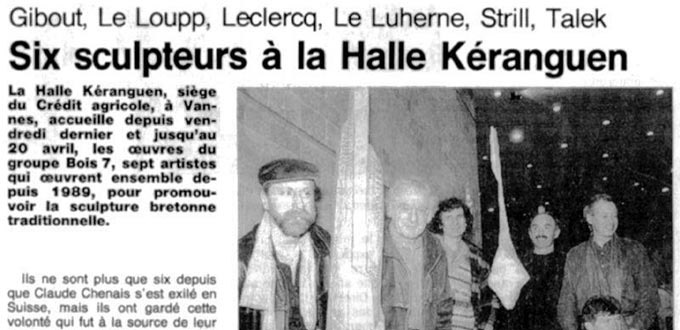 Association de sculpteurs Bois 7, Articles, Presse