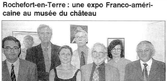 Une Exposition Franco-Américaine au Musée du Château, Articles, Presse