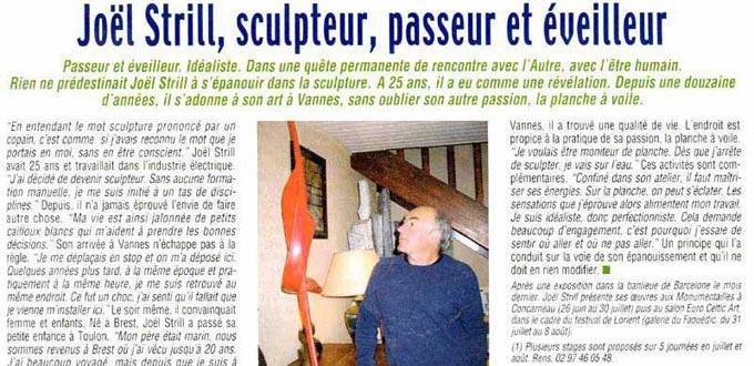 Joël Strill, Passeur et Eveilleur, Articles, Presse