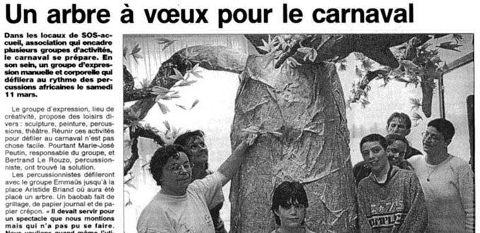 La sculpture fait son Carnaval