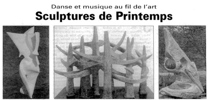 Sculptures de printemps