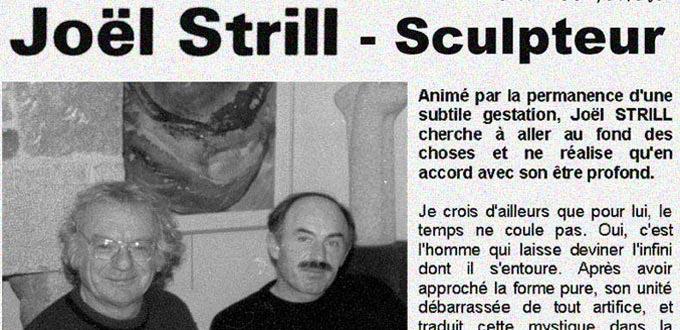 Yann, et Joël, deux sculpteurs perfectionnistes, Articles, Presse