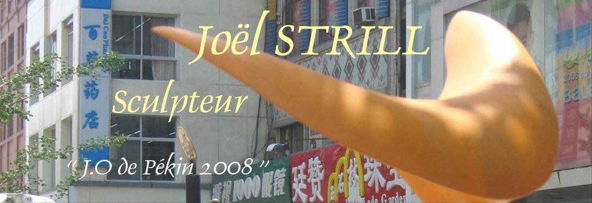 Joël Strill Sculpteur à Vannes, exposition, cours de sculpture
