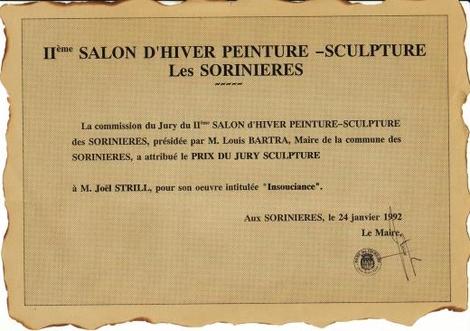 Salon de peinture et de Sculpture- Les-Sorinieres